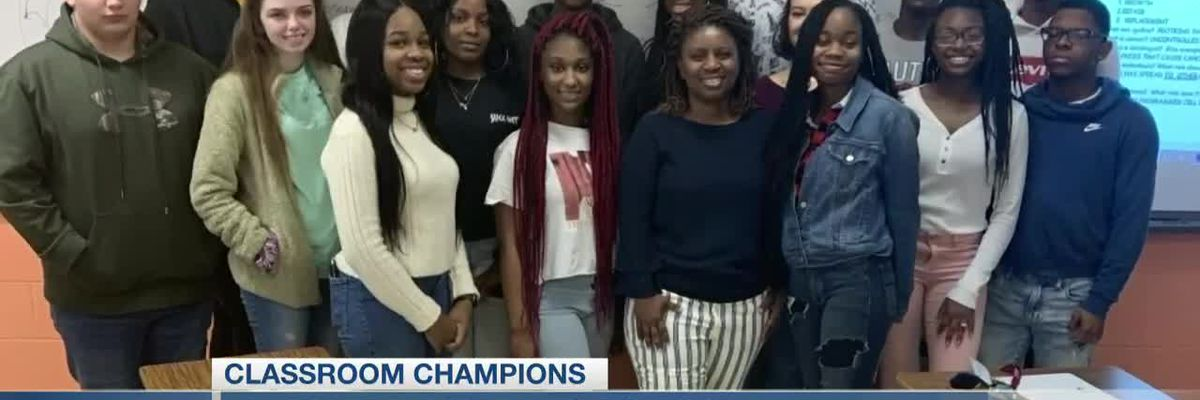 VIDEO: Classroom Champions: Tiffany McCullough wants items for biology class at Carvers Bay High