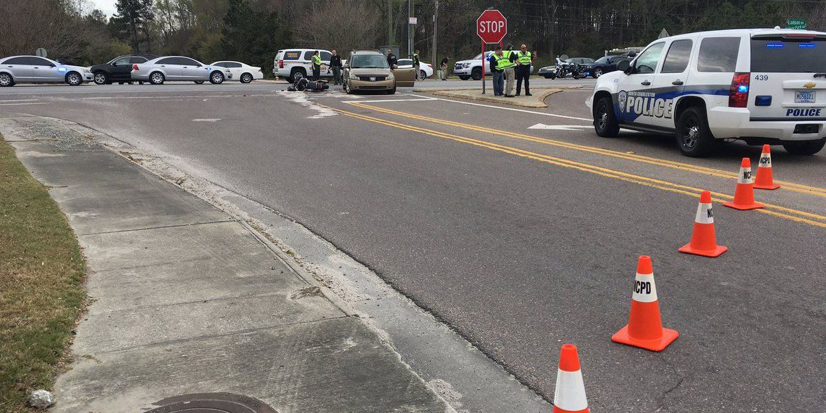 Motorcyclist identified in crash with mini-van in Ladson
