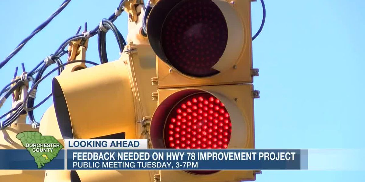 VIDEO: Feedback needed on Highway 78 improvement project in Dorchester Co.