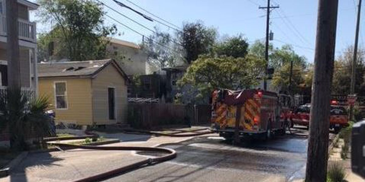 Officials investigating cause of Charleston house fire