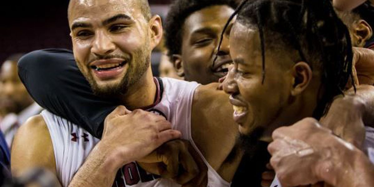 Senior duo leads Gamecocks to overtime win over LSU
