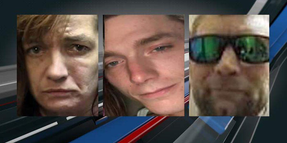Deputies seek public's help in locating 3 missing people