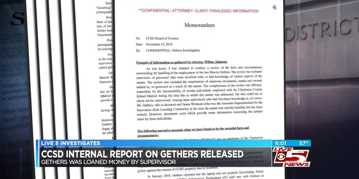 VIDEO: Internal confidential CCSD report details Gethers case, loan by district superior