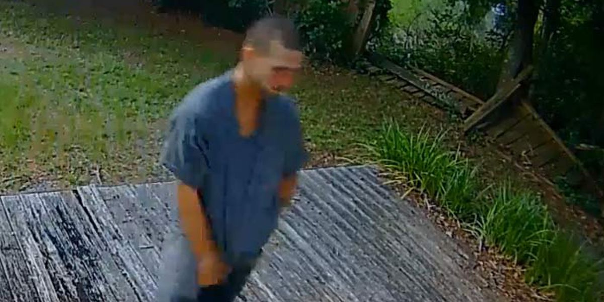 Deputies release surveillance footage of man in trespassing case