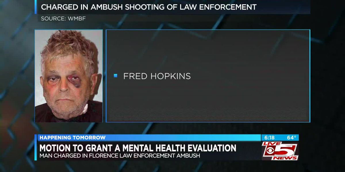 VIDEO: Solicitor to ask judge to grant mental health evaluation for Florence deadly ambush suspect