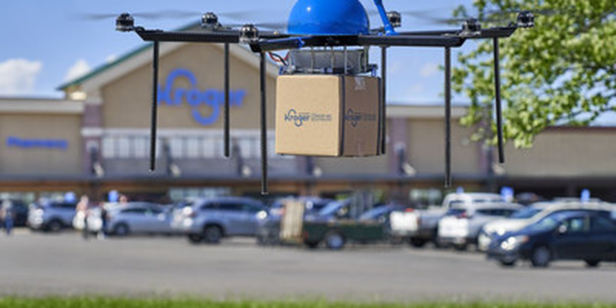 Kroger to start drone deliveries this spring