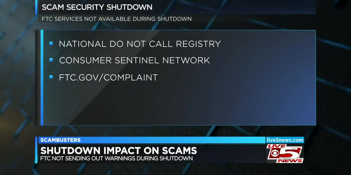 Live 5 Scambusters: Government shutdown creates holes in scam protection