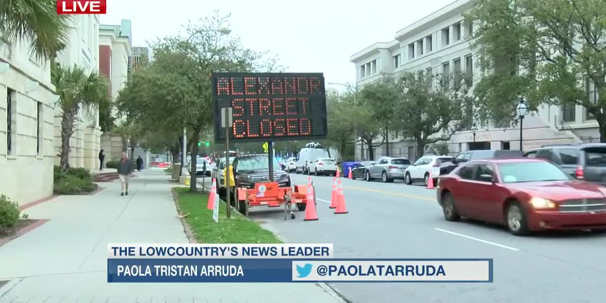VIDEO: Downtown streets close ahead of Democratic presidential debate