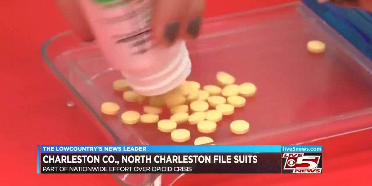 VIDEO: Charleston County, City of North Charleston file lawsuits in Opioid crisis