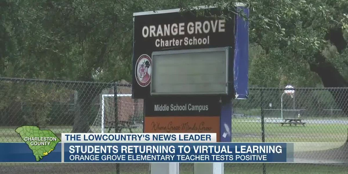 VIDEO: Charleston charter school switches to virtual learning after staffer's positive COVID-19 test