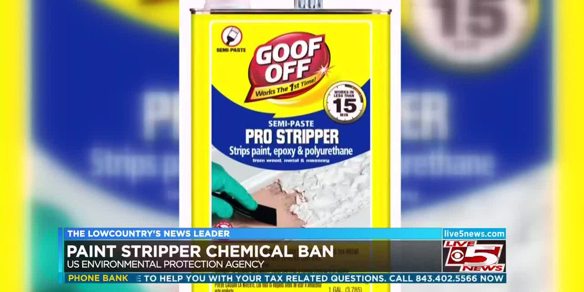 VIDEO: EPA bans sale of chemical in paint stripper which killed North Charleston man
