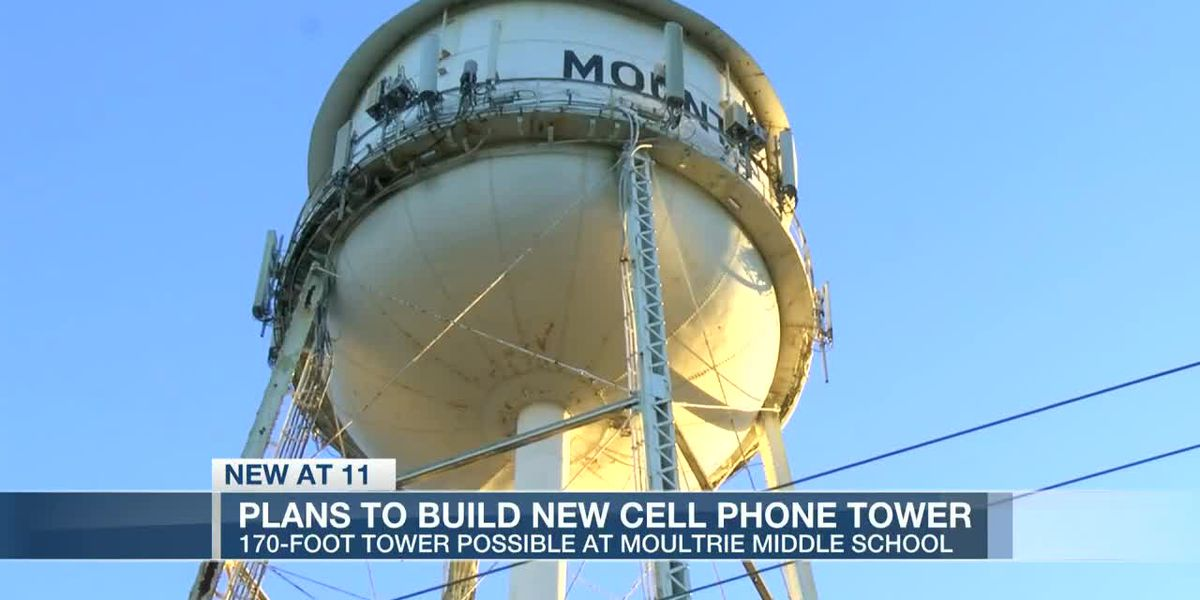 VIDEO: Residents concerned over possible 170-foot cell tower at Moultrie Middle School