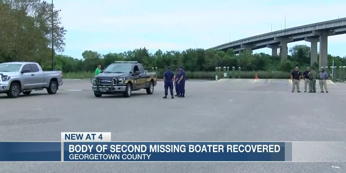 VIDEO: Body of 2nd missing Georgetown County boater found, deputies say