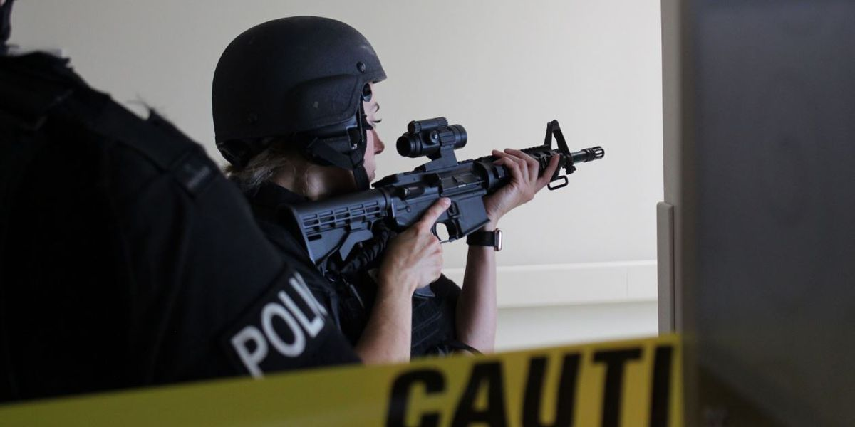 First responders conduct active shooter drill at Mt. Pleasant hospital