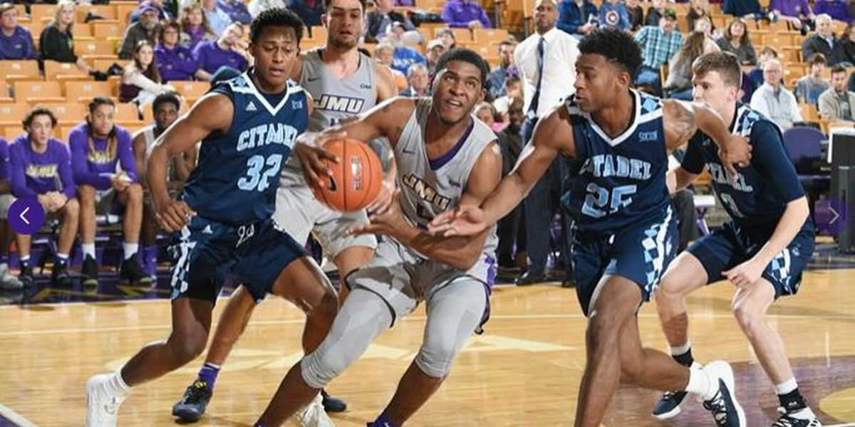 Reed propels The Citadel over James Madison 91-82 in OT