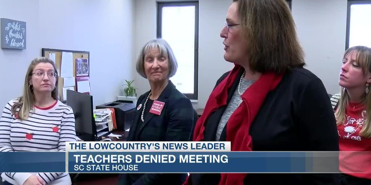 VIDEO: SC for Ed issues statement on claims of canceled meetings with Lowcountry teachers