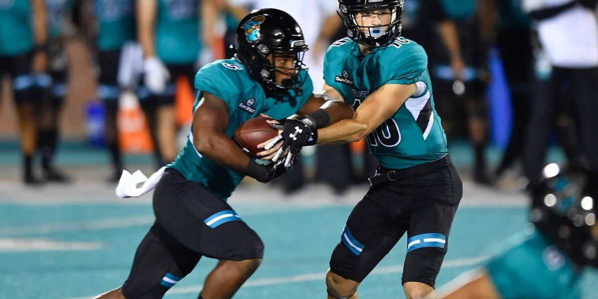 Chanticleers Roll Past Camels 43-21 in Home Opener