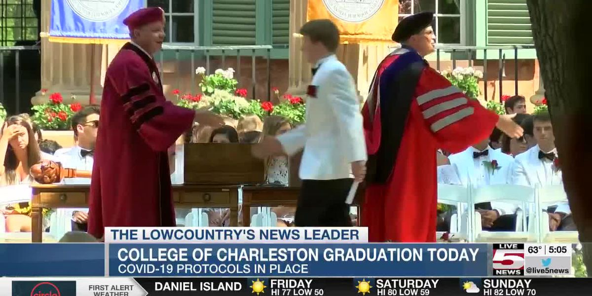 VIDEO: College of Charleston preparing for graduation ceremony