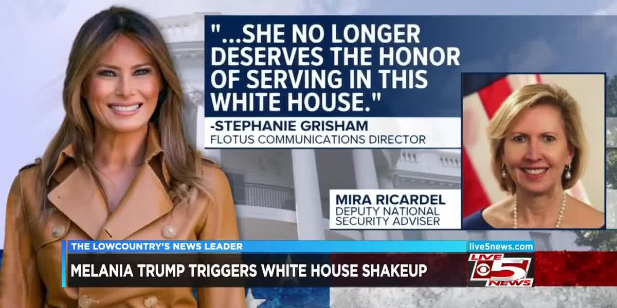 VIDEO: Melania Trump triggers possible White House shakeup