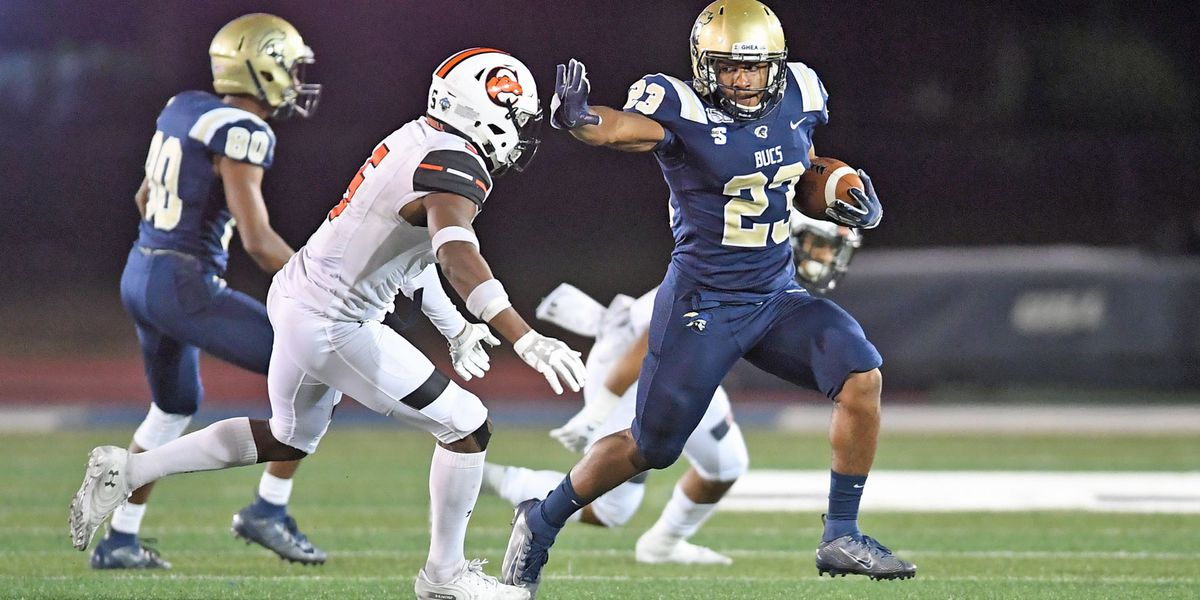 Chambers leads Charleston Southern past Campbell 41-31