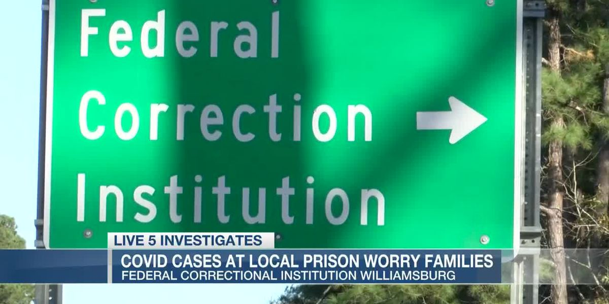VIDEO: Concerns mount as COVID-19 cases increase at Williamsburg Co. federal prison