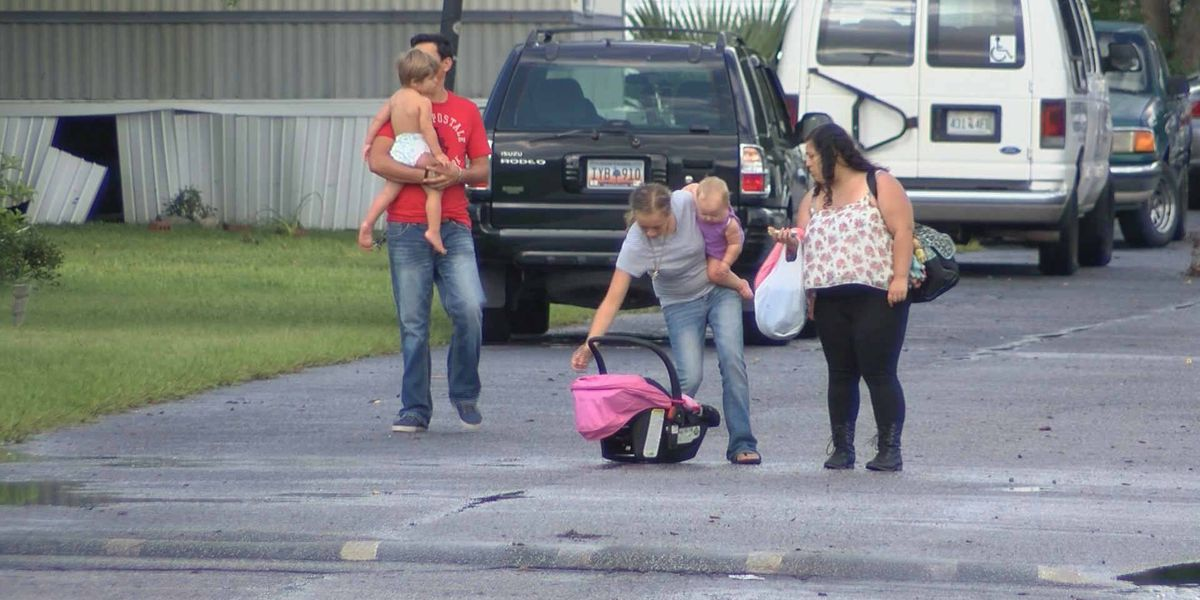 More than 100 families evacuated after flooding