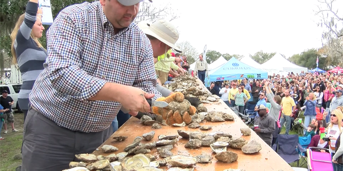 Lowcountry Oyster Festival returns to Mt. Pleasant for 35th year