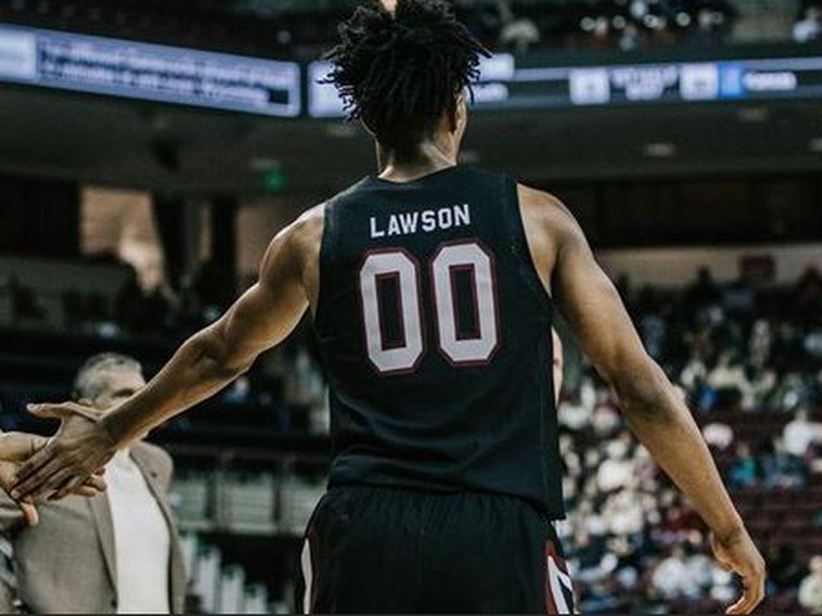Lawson, South Carolina pull away for 84-80 win over UMass