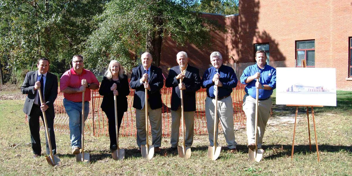 City Council breaks ground on Goose Creek Activity Center