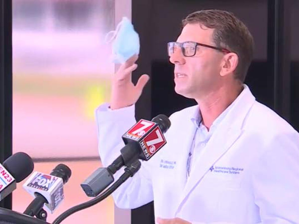 'Put the damn mask on:' Strong message from S.C. hospital chief medical officer