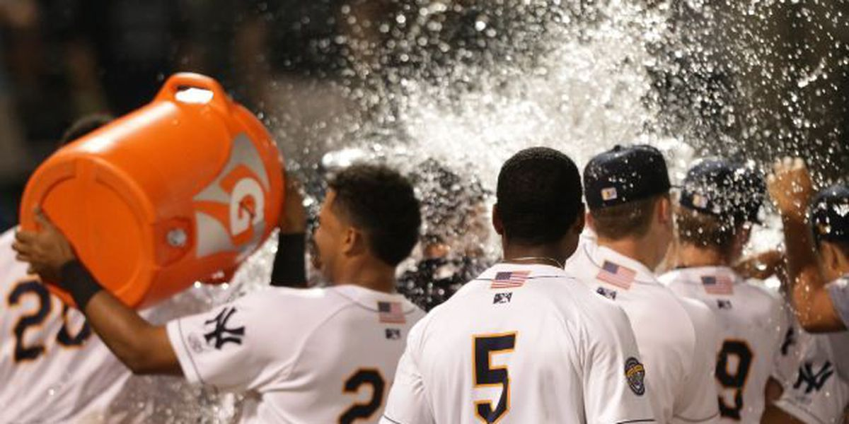 RiverDogs Walk Off on Wild Pitch to Defeat Columbia