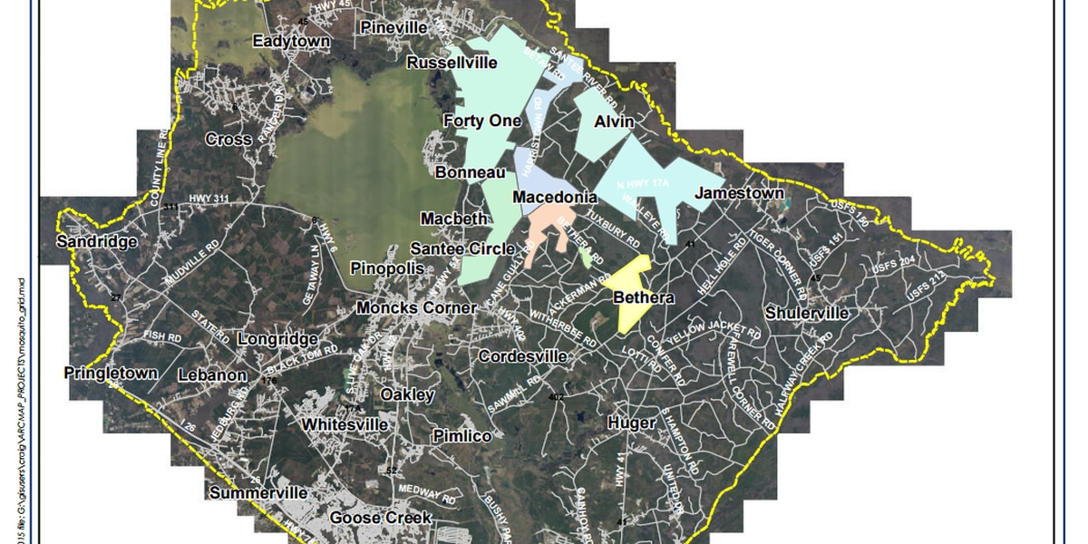 Berkeley County Mosquito Abatement announces fourth spray of week