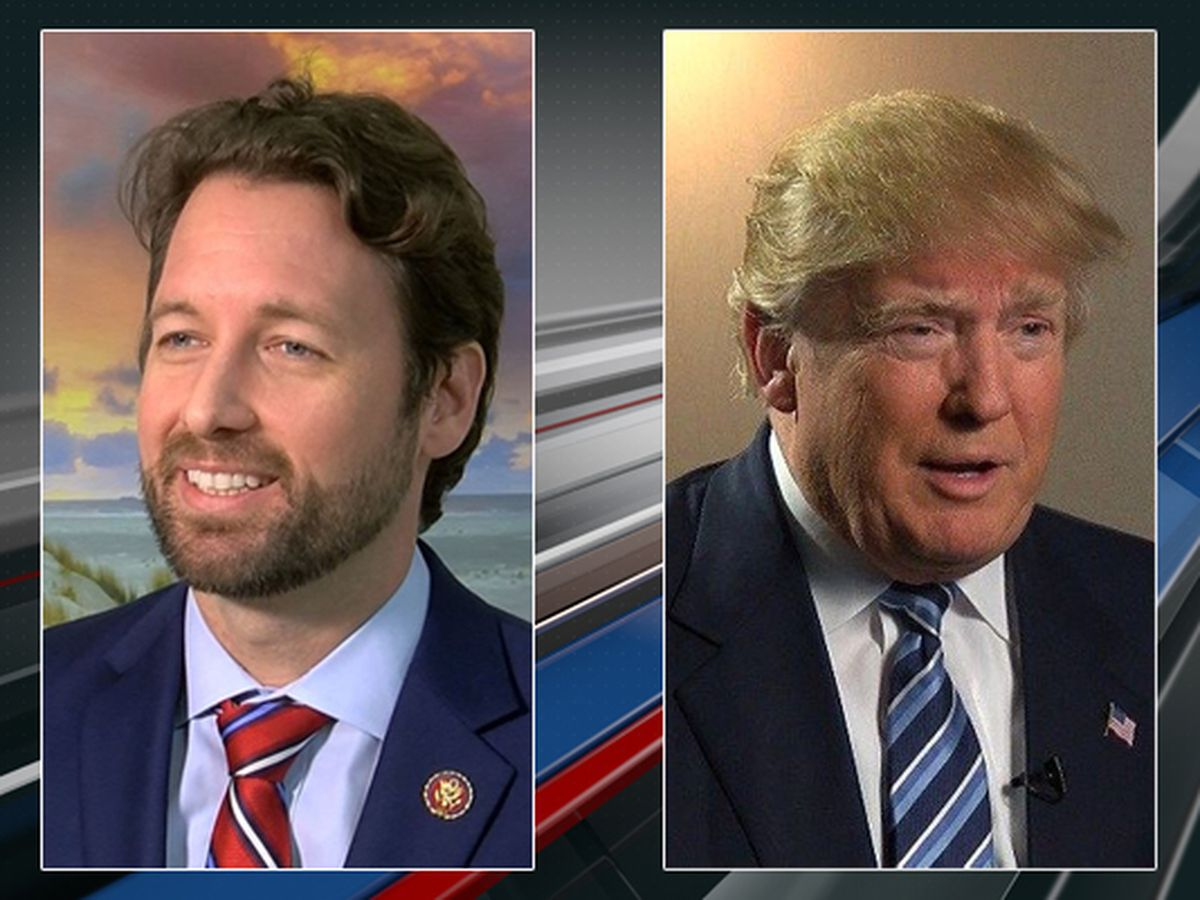 Congressman Joe Cunningham invites President Donald Trump to tour SC coastline