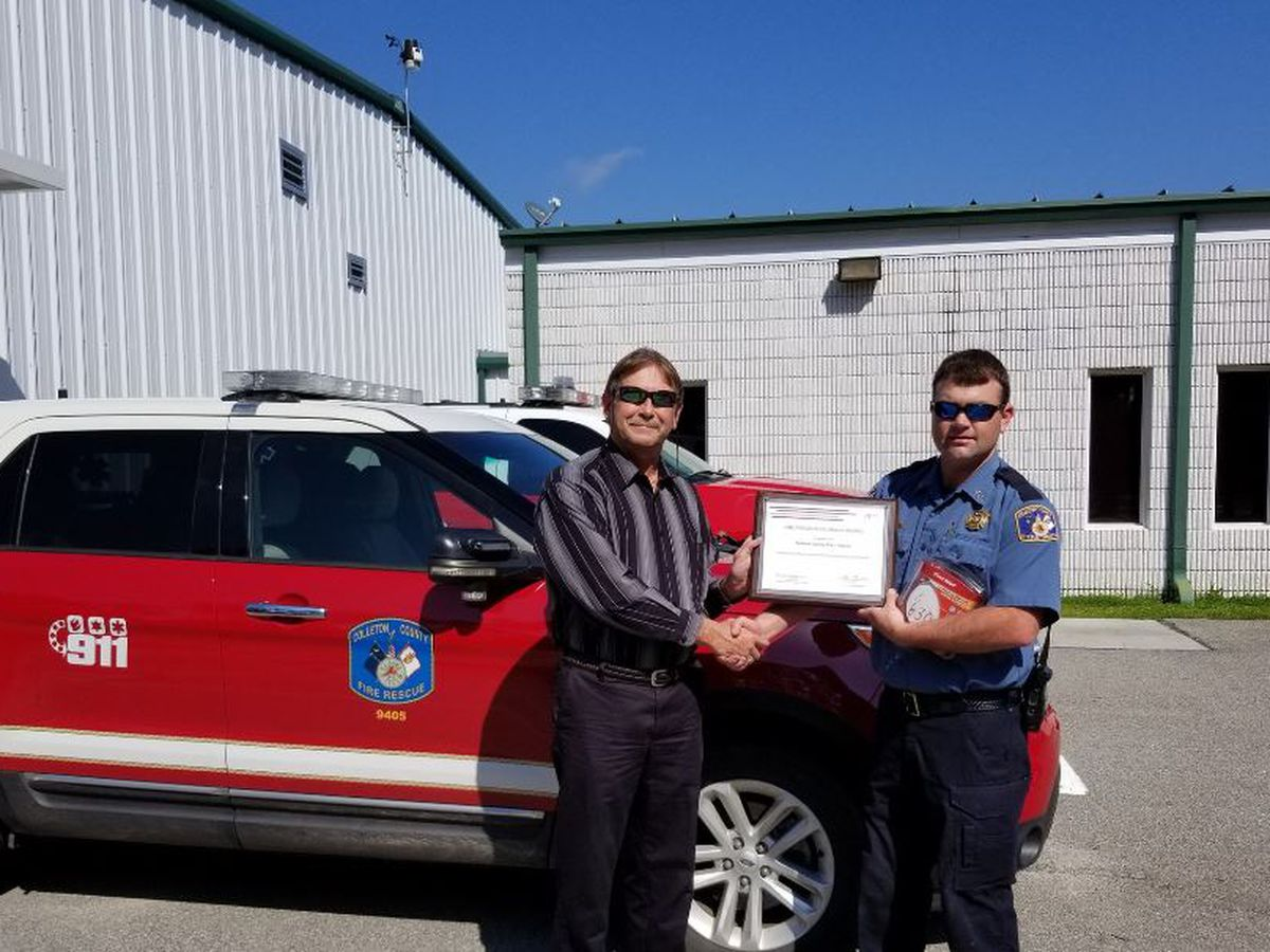 Colleton fire department to use grant to offer smoke detectors to underprivileged