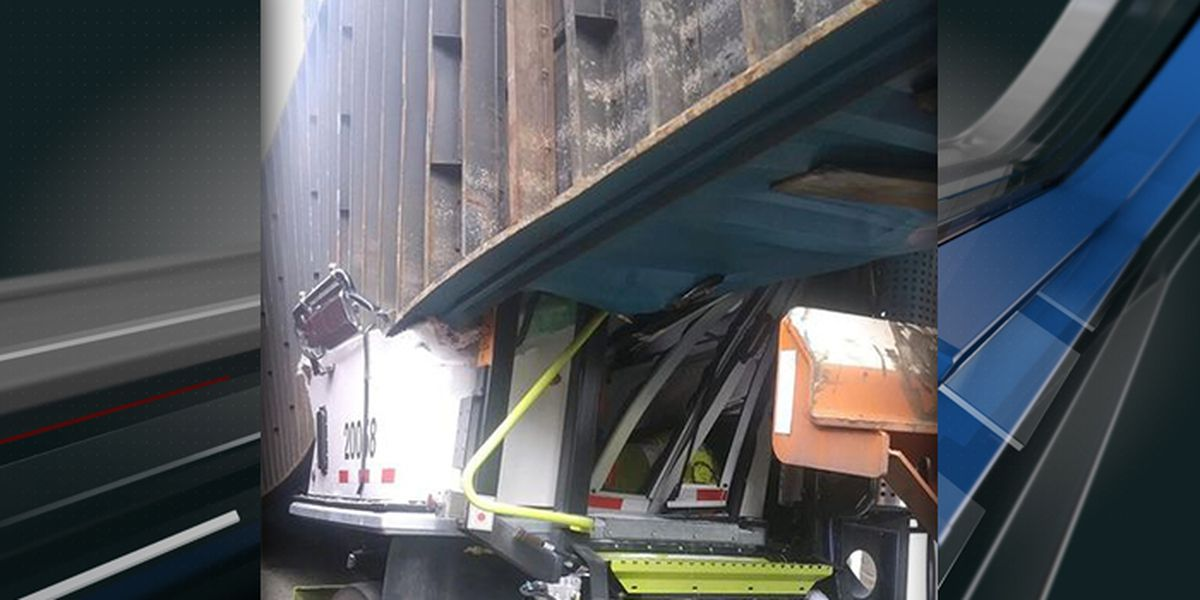 Driver released from hospital after shipping container falls on truck at N. Charleston terminal
