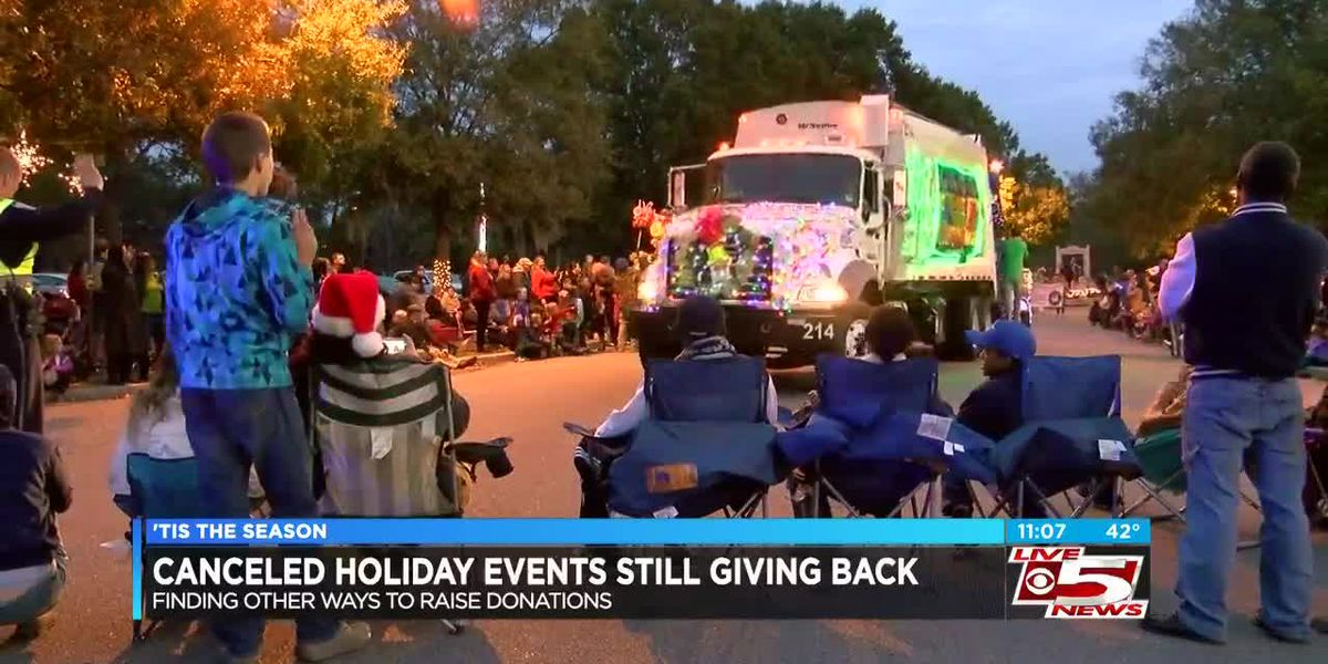 VIDEO: Canceled holiday events look to make up for low donations