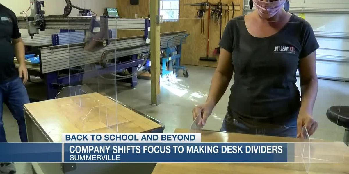 VIDEO: Lowcountry business making desk dividers to help schools open