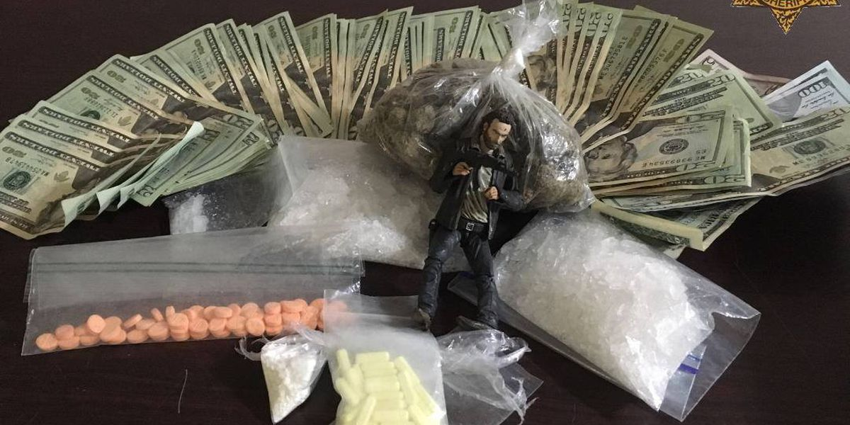 One arrested, two others sought after Goose Creek drug bust