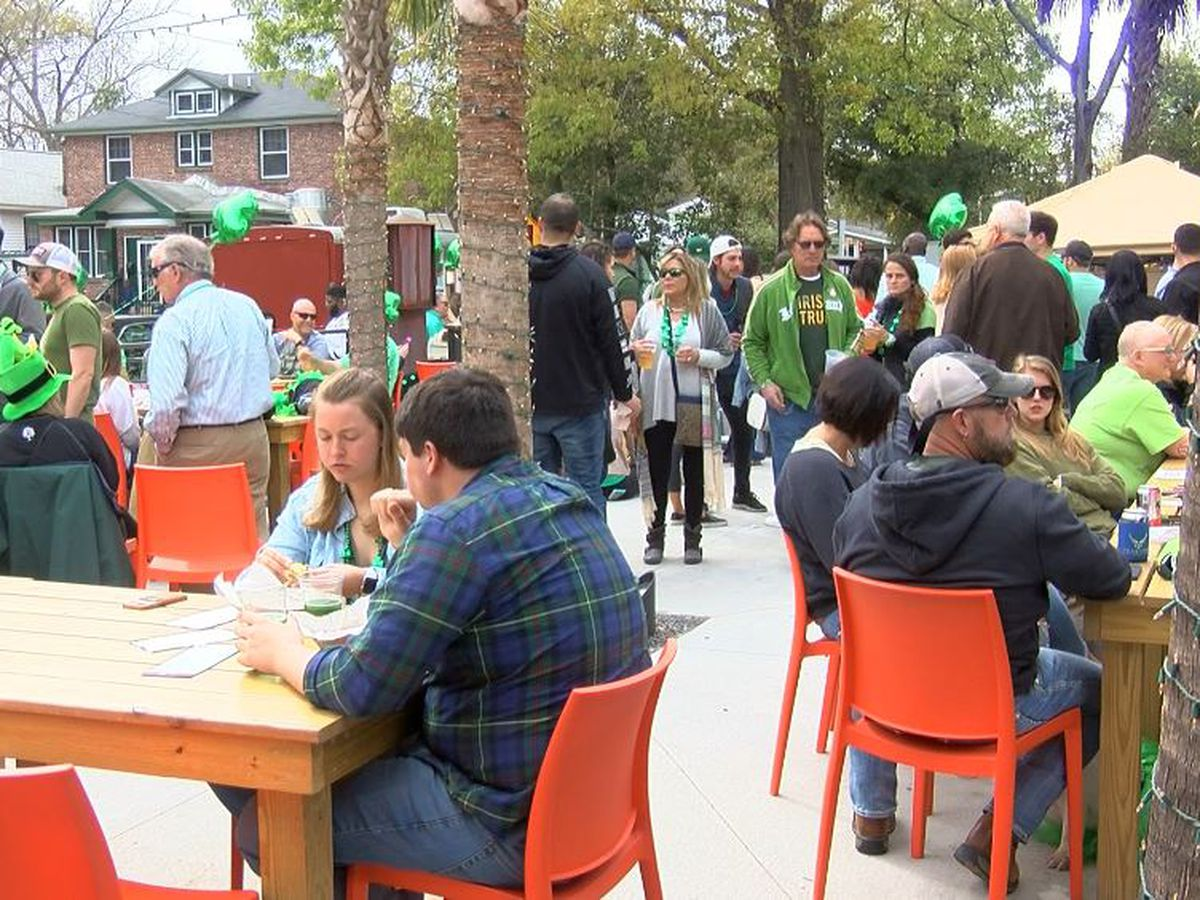 Lowcountry celebrates St. Patrick's Day with block party, musical celebration
