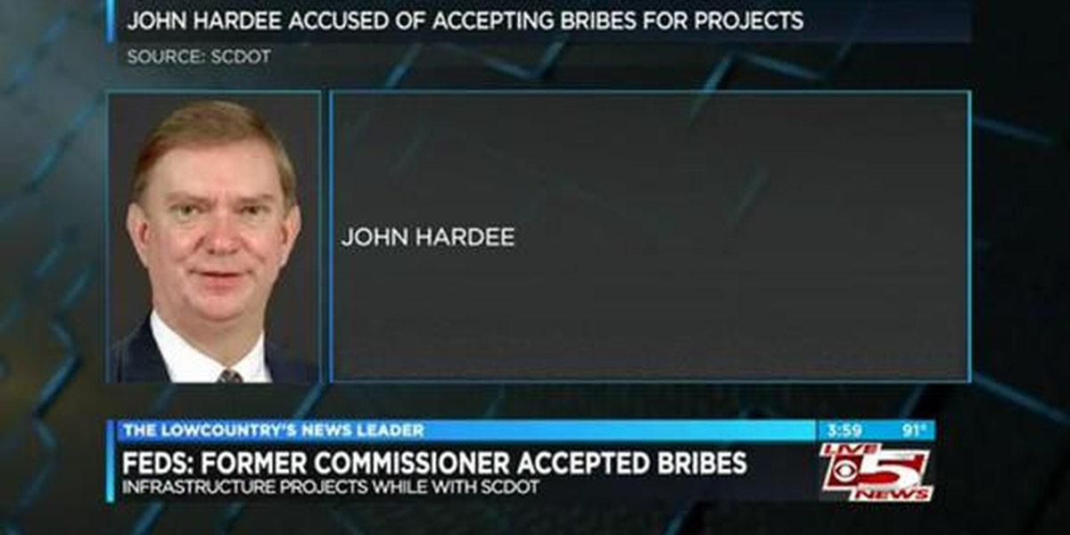 VIDEO: Feds: Former SCDOT commissioner accepted bribes for infrastructure projects