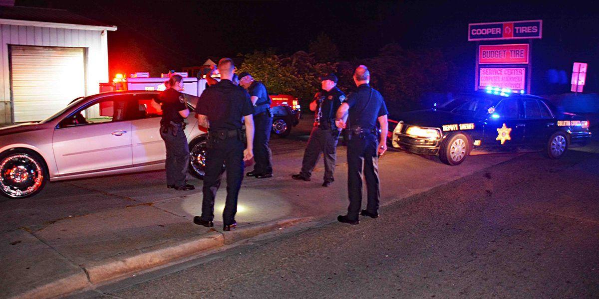 Deputies stop speeding car and find couple shot inside