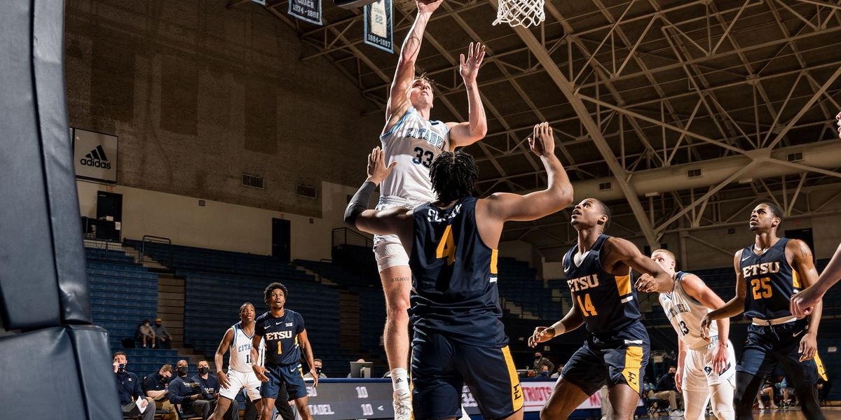 Brown carries The Citadel past East Tennessee State 79-71