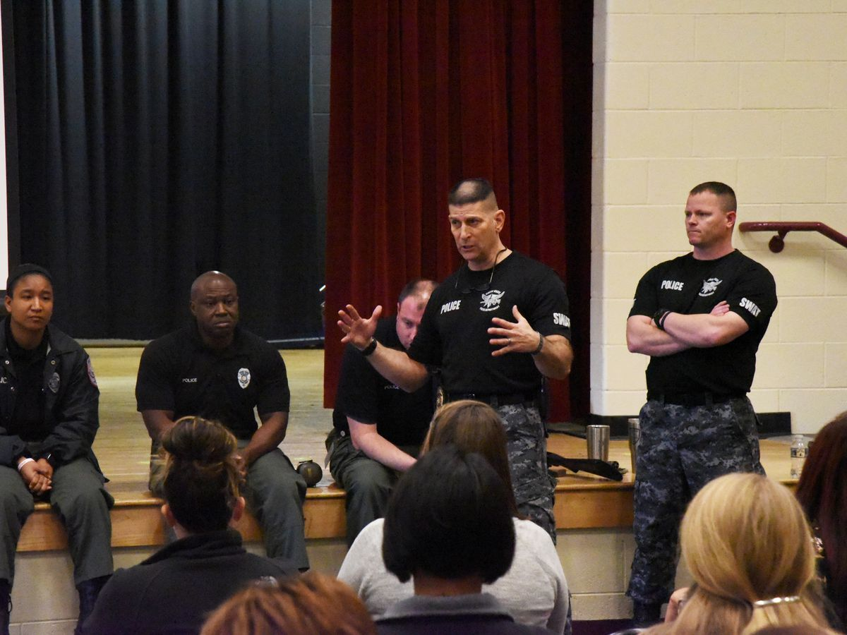 BCSD holds gunfire recognition demonstration for staff members