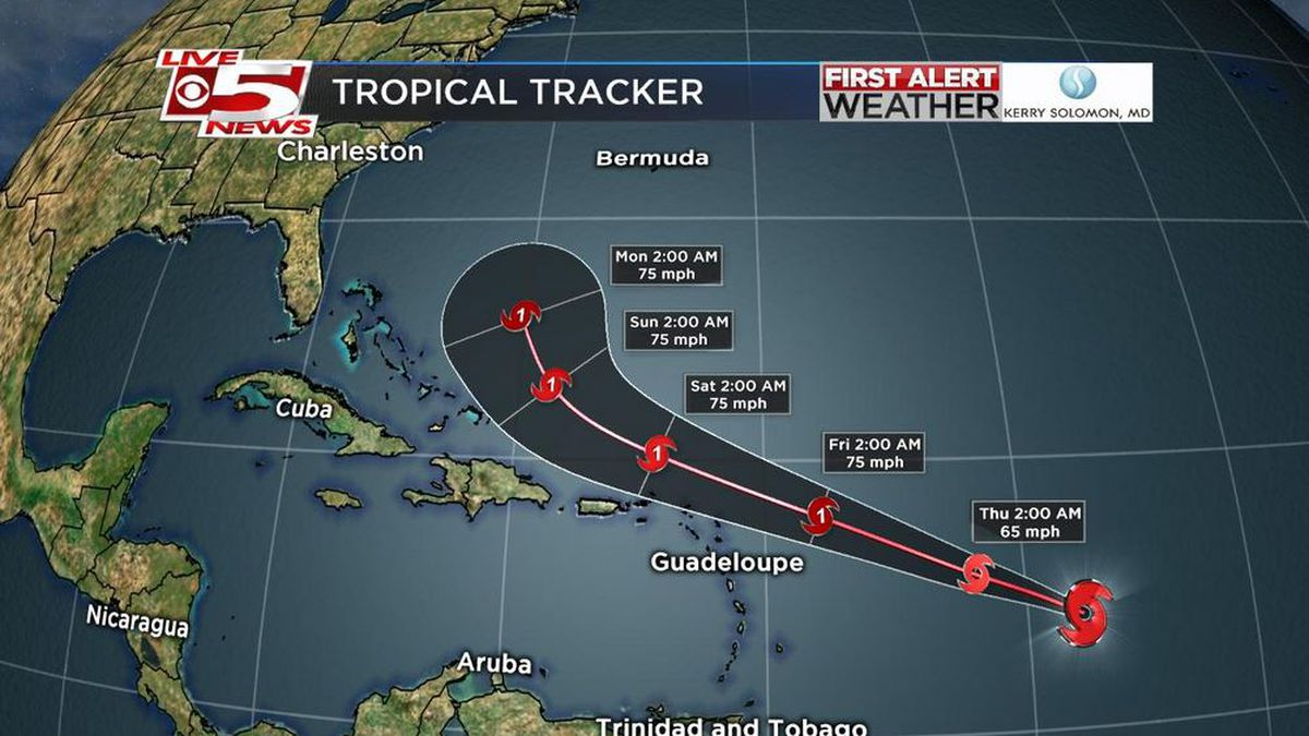 FIRST ALERT: Tropical Storm Jerry forms, becomes 10th named storm of season