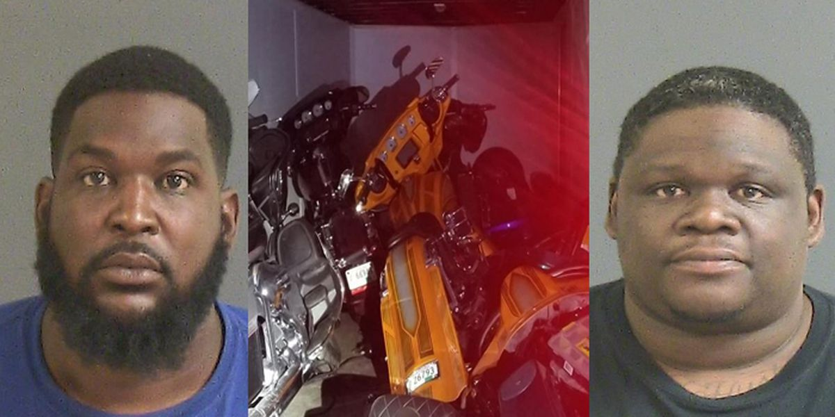 Police: Social media helps Horry Co. custom shop owner track down stolen motorcycles in Charleston