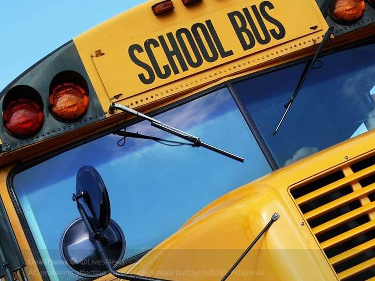 School bus involved in crash in Dorchester Co.