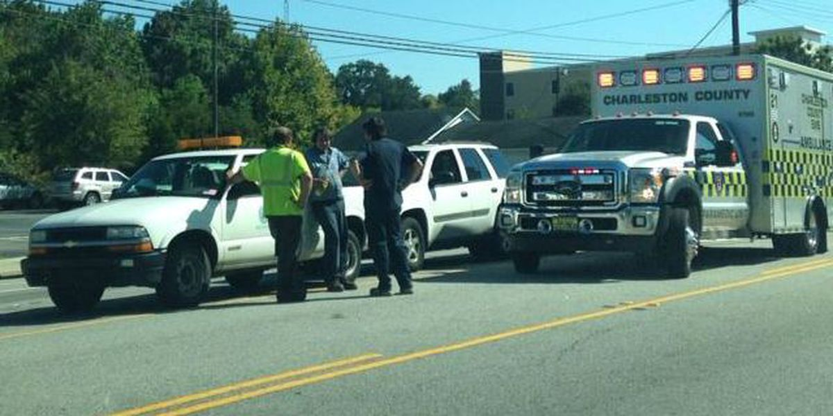 Accident cleared on Hwy. 61 in West Ashley