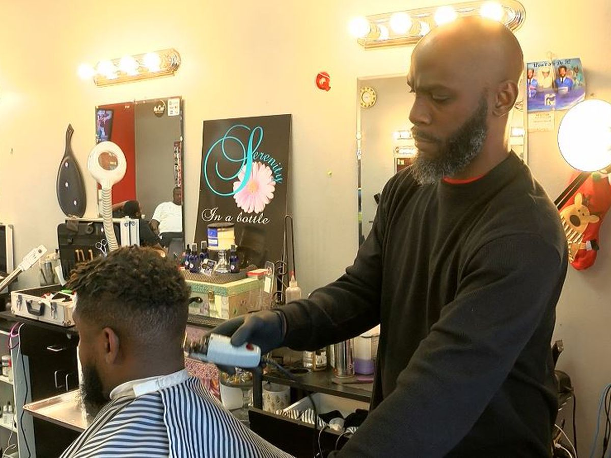 Kids learn lesson in reading at the barbershop