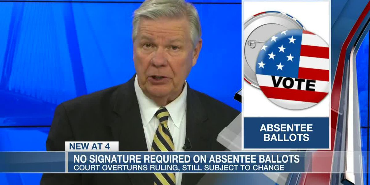 VIDEO: After another reversal, witness signatures won't be required on S.C. absentee-by-mail ballots