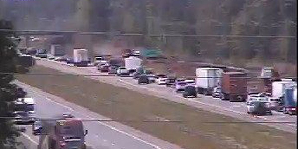 Traffic back to normal on I-26 EB near Summerville exit following brush fire